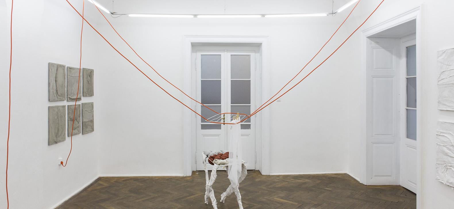 KAIR Kosice Exhibition - intallation by Barbora Fastrova