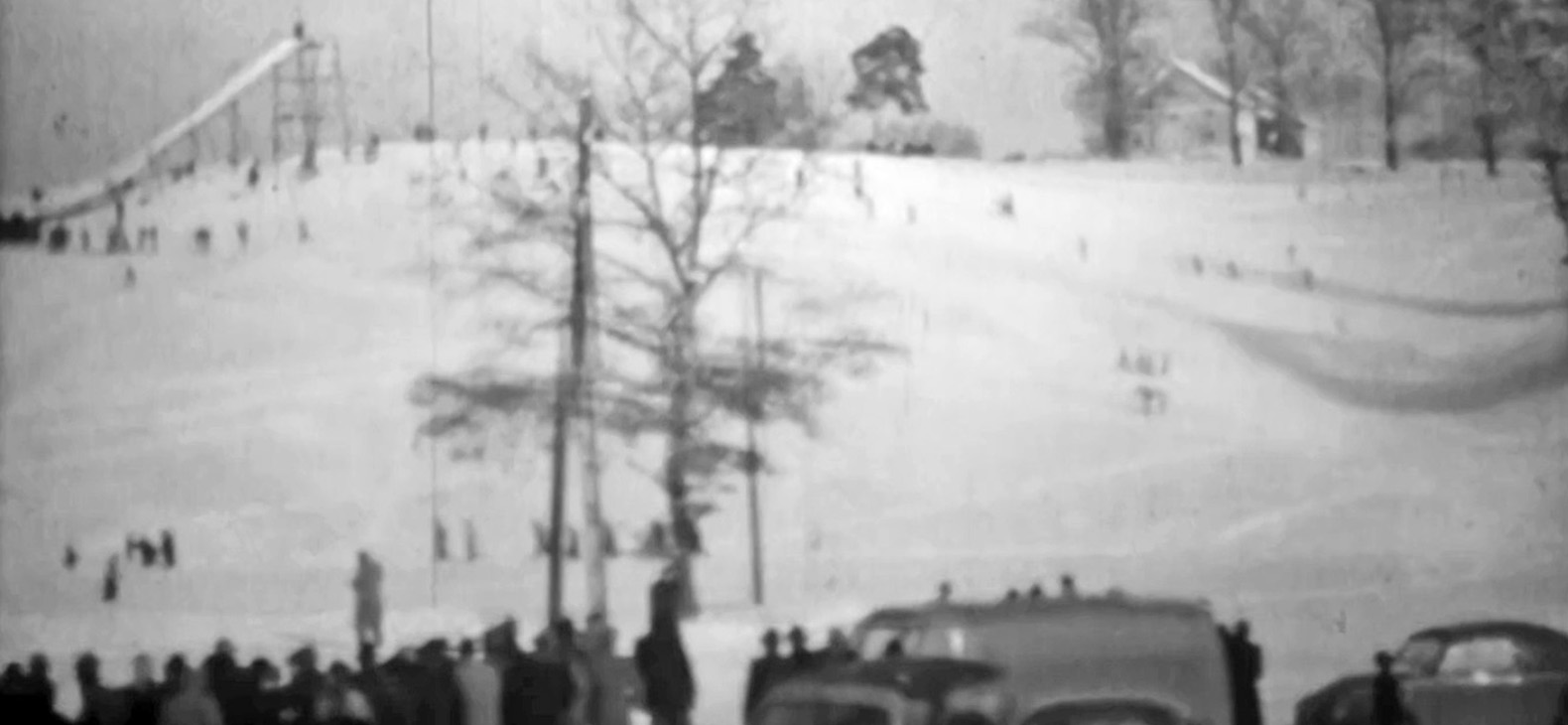 """34 Meter, Alexis Dworsky, Video, 3'30"""", 2013 8mmFilm, S/W, digital rekonstruiert,2:45 min, Aufnahmezeitpunkt unbekannt, vermutlich 1950er Jahre"""