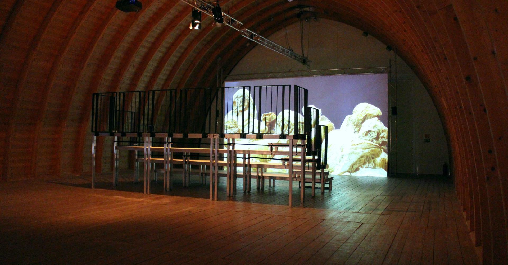 Schafhof - Ausstellung - Kutscher