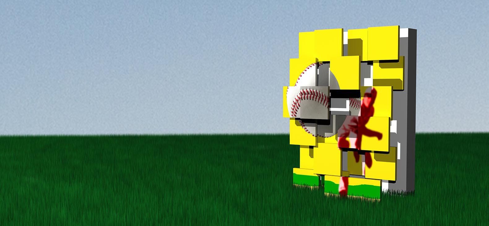 Tomasz Drewicz: Home Run (sketch)