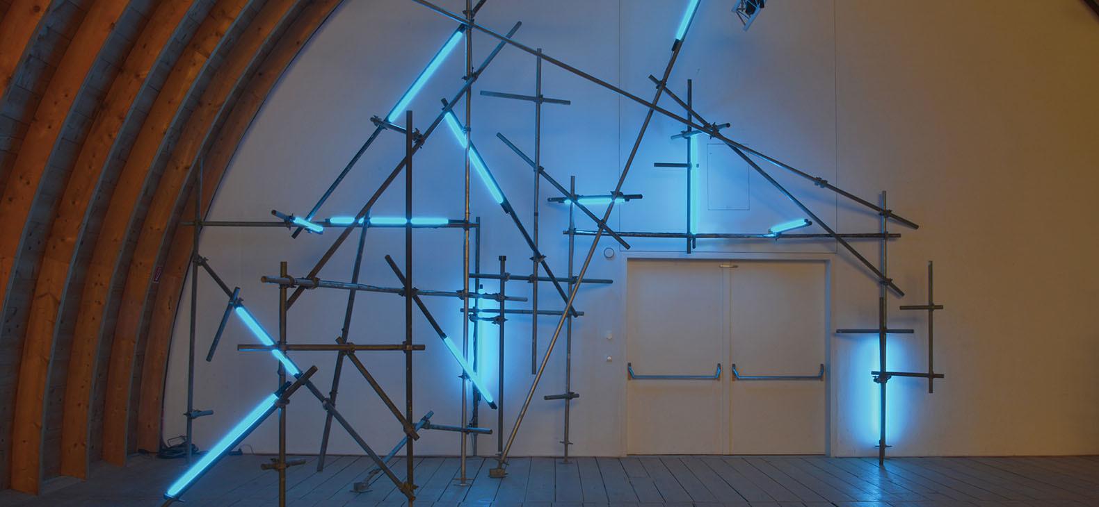 Schafhof Künstlerhaus - Ausstellung AUFTAKT: Rhythm Section - Christoph Dahlhausen: Stabilizing Light (Freising), 2017