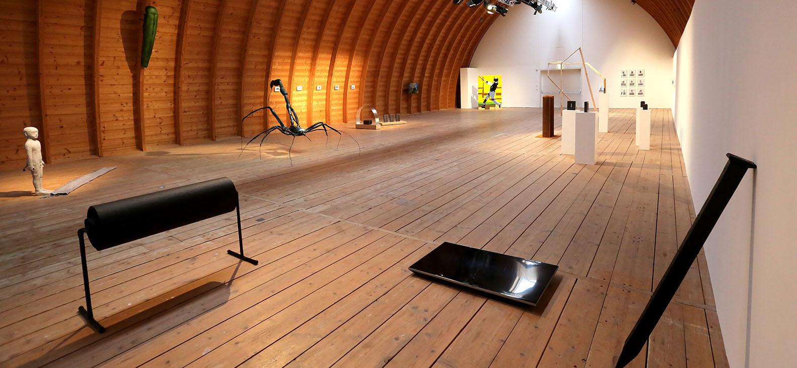 Ausstellung Wechselspiel, Schafhof 2017, Foto: Marco Einfeldt