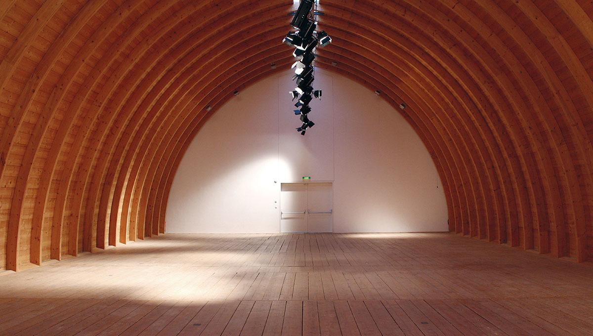 Schafhof - Tonnengewölbe