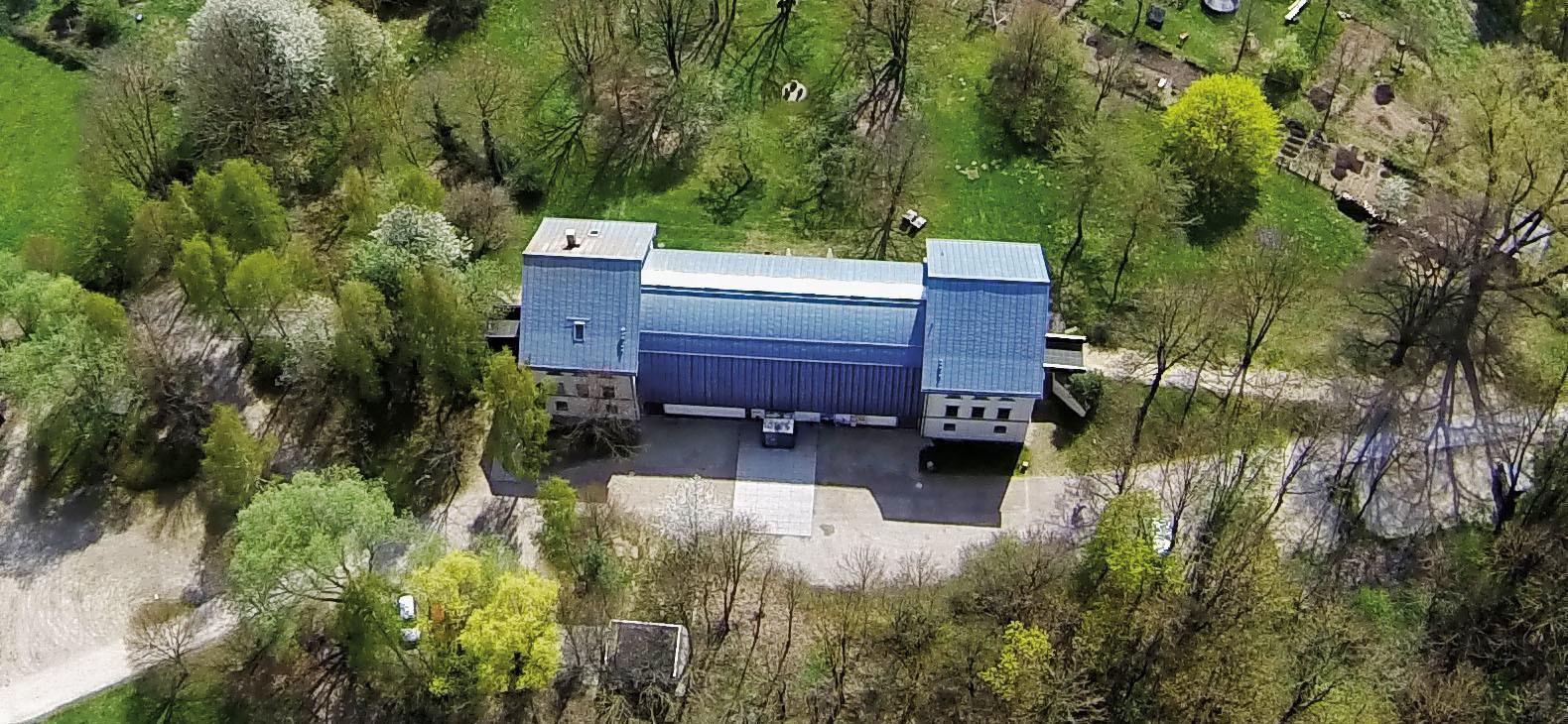 Luftbild vom Europäischen Künstlerhaus; Foto: Michael Radeck
