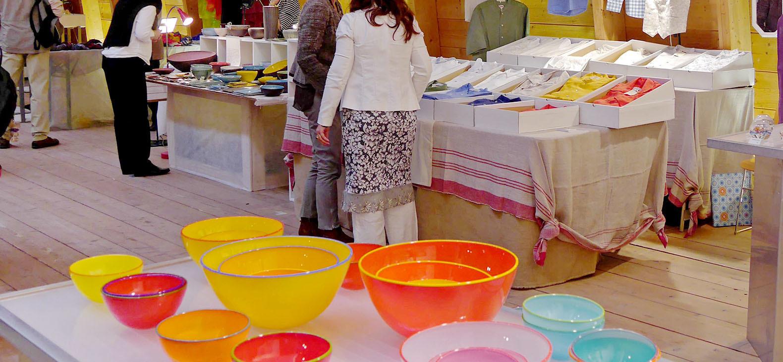 Kunsthandwerkermarkt Aussteller