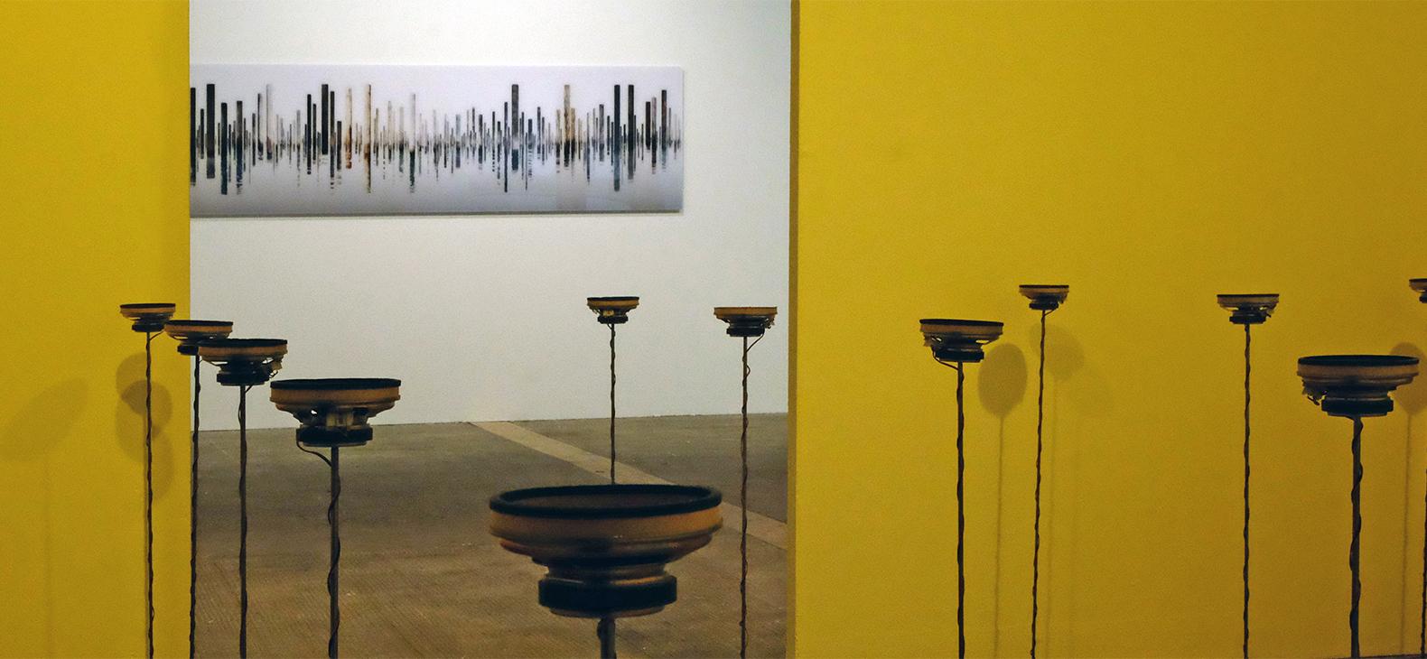 Ausstellung Resonanzen mit Georg Küttinger und Hans Wesker, Foto: Hans Wesker (C) VG Bild-Kunst e.V.