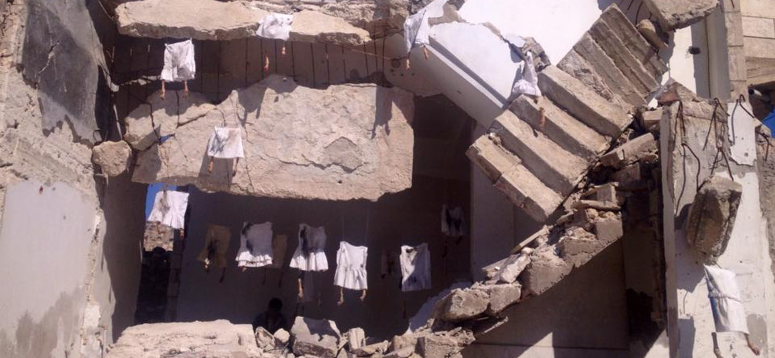 Schafhof Transfer Syrien - Hiba Alansare: Fegefeuer