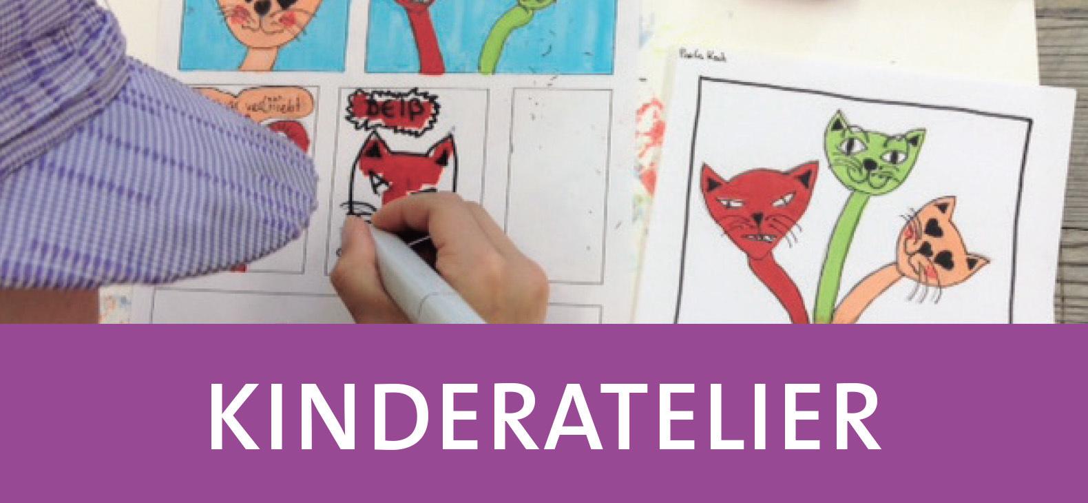 Handlettern, Schreiben und Comiczeichnen