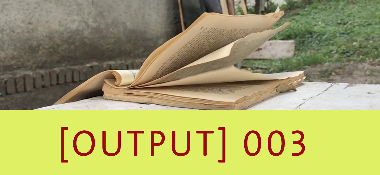 Output 003: Daniel Door