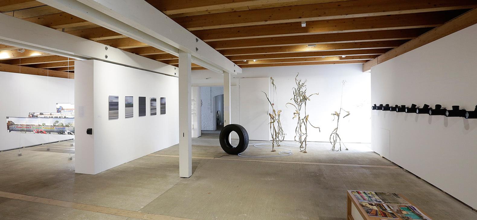 Ausstellung Fokus Europa I - Blick in die Galerie im Erdgeschoss