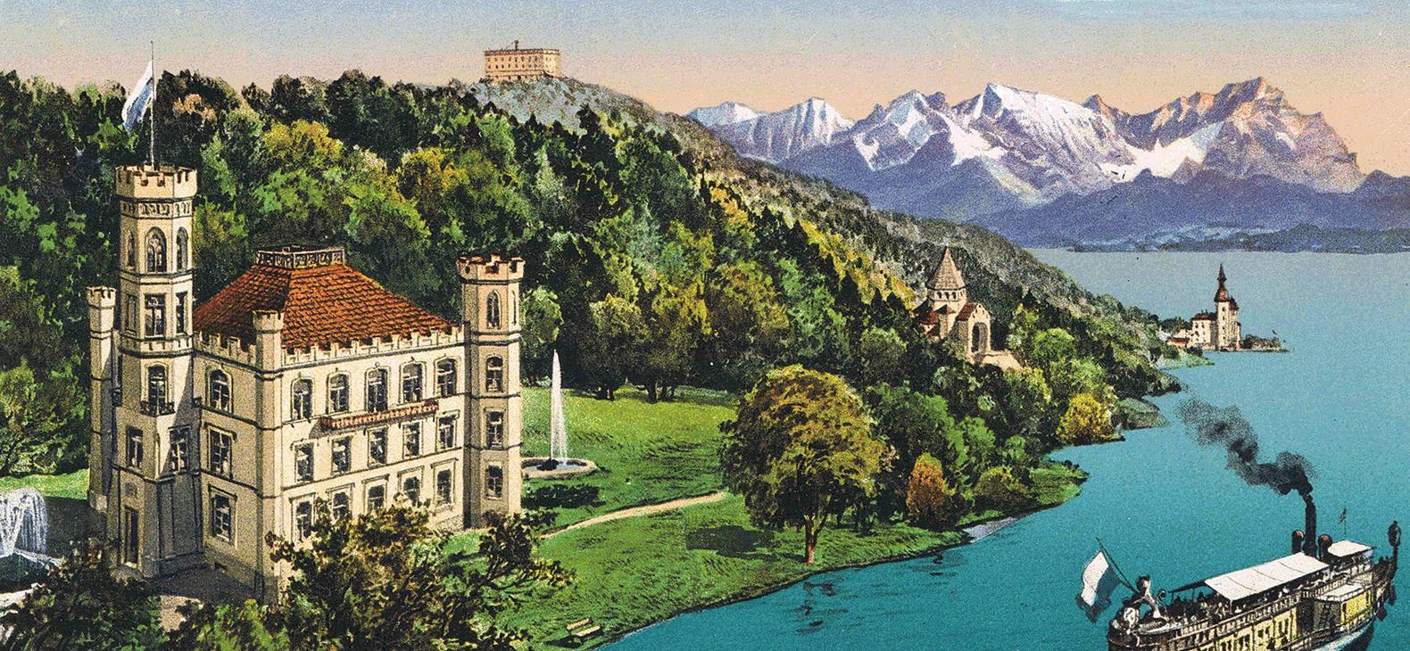 Berg Am Starnberger See schloss berg ludwig ii heimliche residenz der könig und sein